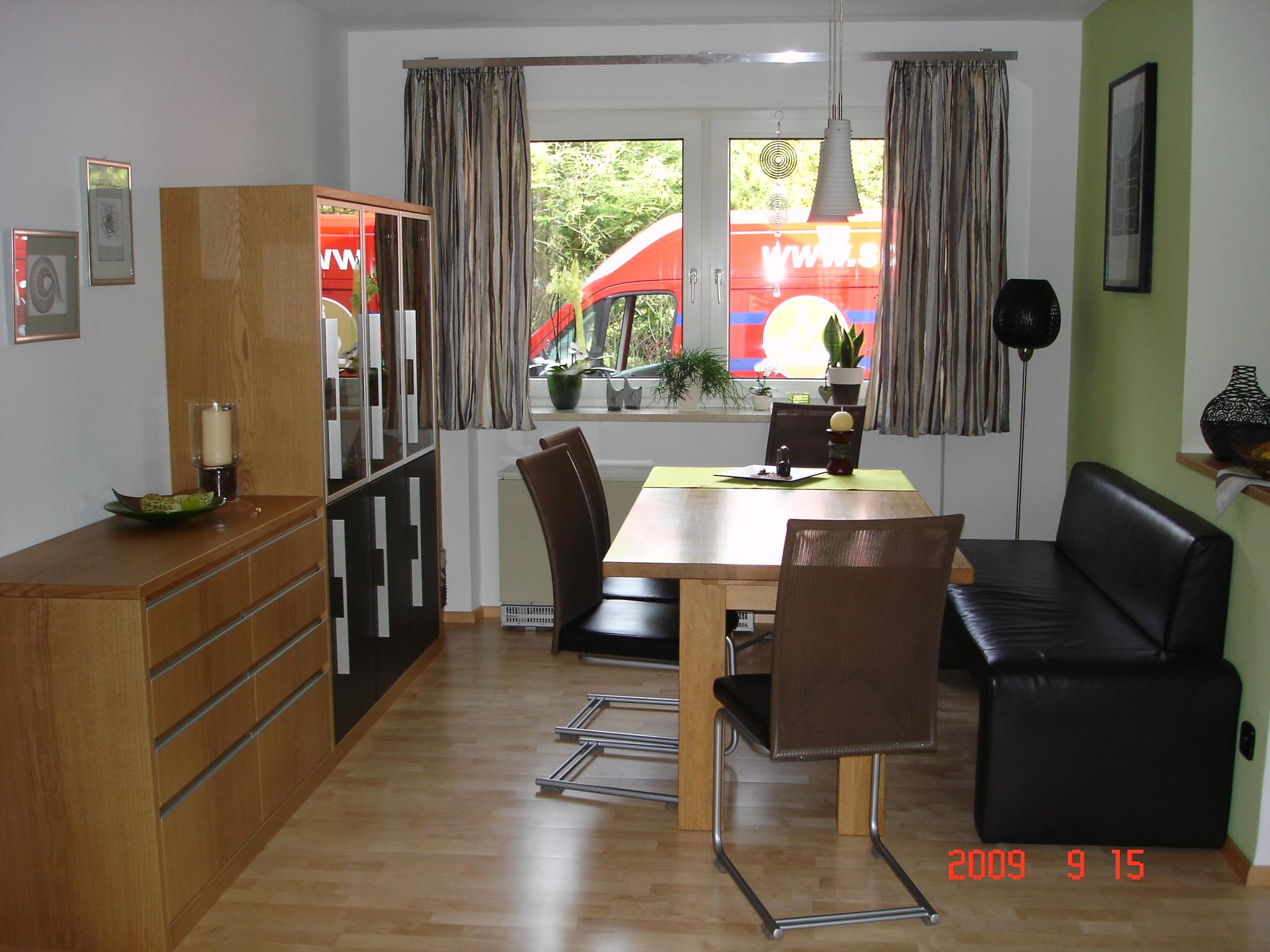 Ess- und Wohnzimmer - Schreinerei Bernd Schrell